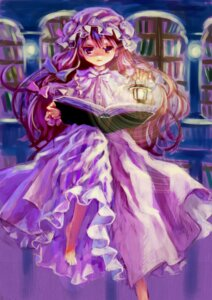 Rating: Safe Score: 10 Tags: ama-tou patchouli_knowledge touhou User: yumichi-sama