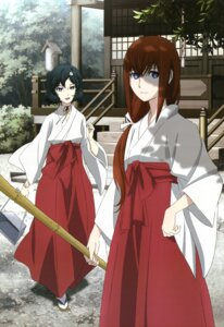 Rating: Safe Score: 49 Tags: makise_kurisu miko sakai_kyuuta steins;gate trap urushibara_luka User: Radioactive