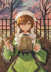 Rating: Questionable Score: 13 Tags: heterochromia maid rozen_maiden suiseiseki tagme User: Dreista