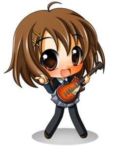 Rating: Safe Score: 5 Tags: chibi hirasawa_yui k-on! pantyhose seifuku shinjitsu User: Shamensyth