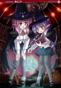 Rating: Safe Score: 21 Tags: elf kishi_nisen pantyhose pointy_ears witch User: petopeto