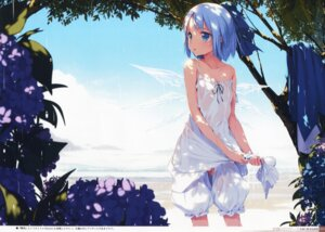 Rating: Questionable Score: 79 Tags: bloomers cirno dress ke-ta landscape loli no_bra see_through summer_dress touhou wings User: Radioactive