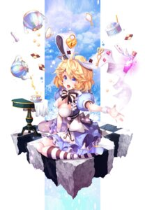 Rating: Questionable Score: 26 Tags: alice_in_wonderland chepill cleavage dress heels User: mash