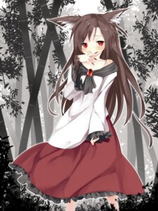 Rating: Safe Score: 25 Tags: animal_ears gorilla_(bun0615) imaizumi_kagerou touhou User: ddns001