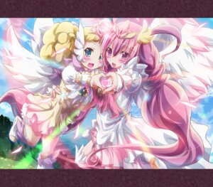 Rating: Safe Score: 9 Tags: candy_(smile_precure) hoshizora_miyuki inoshishi pretty_cure smile_precure! wings User: eridani