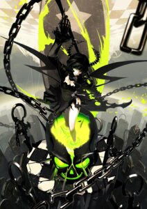 Rating: Safe Score: 72 Tags: black_rock_shooter dead_master horns torn_clothes tsunekun vocaloid User: Nekotsúh