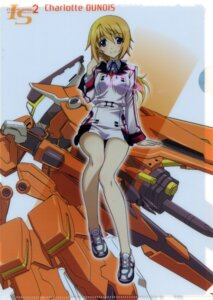 Rating: Safe Score: 54 Tags: charlotte_dunois infinite_stratos seifuku User: fireattack
