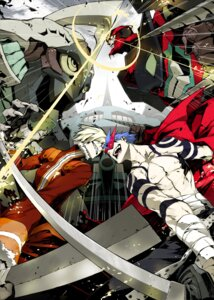 Rating: Safe Score: 40 Tags: kamina male mecha miwa_shirow tengen_toppa_gurren_lagann viral User: Syko83