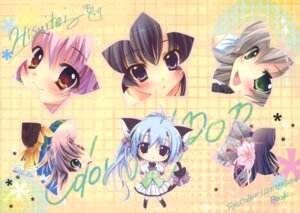Rating: Safe Score: 19 Tags: animal_ears chibi hisuitei izumi_tsubasu tail User: blooregardo