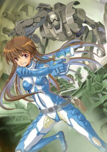 Rating: Safe Score: 17 Tags: bodysuit gun mecha miyo_(bucktick1999) User: Radioactive