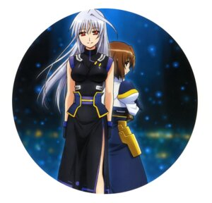 Rating: Safe Score: 5 Tags: mahou_shoujo_lyrical_nanoha mahou_shoujo_lyrical_nanoha_a's mahou_shoujo_lyrical_nanoha_the_movie_2nd_a's okuda_yasuhiro reinforce yagami_hayate User: drop