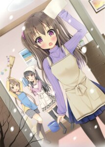 Rating: Safe Score: 44 Tags: mori_airi pantyhose sweater thighhighs User: Twinsenzw
