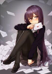 Rating: Safe Score: 67 Tags: hitoshi_(pixiv3340857) pantyhose seifuku sweater User: Mr_GT