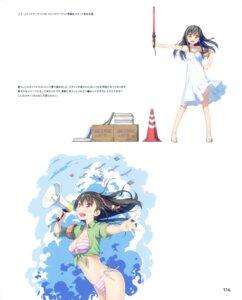 Rating: Safe Score: 19 Tags: bikini dress kantoku open_shirt skirt_lift summer_dress swimsuits User: Twinsenzw