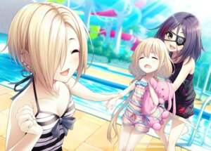 Rating: Safe Score: 49 Tags: cleavage eyepatch futaba_anzu hayasaka_mirei shirasaka_koume swimsuits the_idolm@ster the_idolm@ster_cinderella_girls wasumi_(hasubatake39) User: Mr_GT