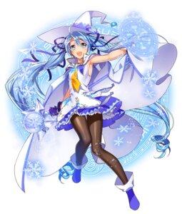 Rating: Safe Score: 57 Tags: hatsune_miku murakami_yuichi pantyhose vocaloid yuki_miku User: fairyren