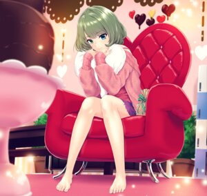 Rating: Safe Score: 60 Tags: infinote sweater takagaki_kaede the_idolm@ster the_idolm@ster_cinderella_girls valentine User: Mr_GT
