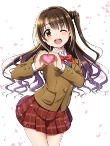 Rating: Safe Score: 42 Tags: rariemonn seifuku shimamura_uzuki the_idolm@ster the_idolm@ster_cinderella_girls User: charunetra