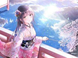 Rating: Safe Score: 89 Tags: katou_megumi kayakooooo kimono saenai_heroine_no_sodatekata User: Mr_GT