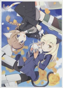 Rating: Safe Score: 16 Tags: lynette_bishop pantyhose perrine-h_clostermann screening strike_witches User: cross_of_haerts