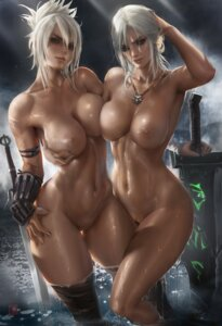 Rating: Explicit Score: 80 Tags: ciri league_of_legends naked nipples pussy riven_(league_of_legends) sakimichan the_witcher_3 thighhighs uncensored wet User: BattlequeenYume