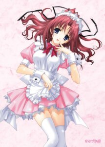Rating: Safe Score: 46 Tags: dreamparty kimizuka_aoi maid thighhighs User: Gekisoku