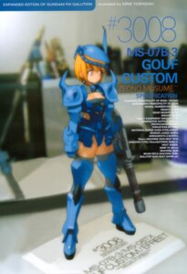 Rating: Safe Score: 8 Tags: gun gundam mecha_musume screening the_08th_ms_team thighhighs yoshizaki_mine User: SoS_DAN