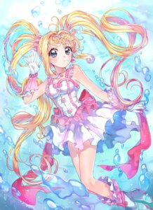 Rating: Safe Score: 25 Tags: cleavage dress heels mermaid_melody_pichi_pichi_pitch nanami_luchia rojiko User: Mr_GT