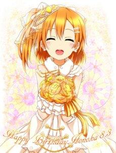 Rating: Safe Score: 36 Tags: dress karamone-ze kousaka_honoka love_live! wedding_dress User: 椎名深夏