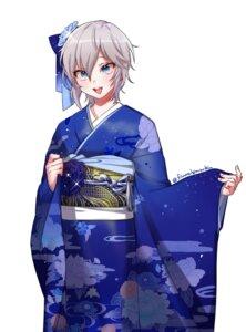 Rating: Safe Score: 22 Tags: anastasia_(idolm@ster) hana_shiori kimono the_idolm@ster the_idolm@ster_cinderella_girls User: nphuongsun93