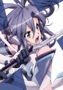 Rating: Safe Score: 29 Tags: bodysuit kazanari_tsubasa senki_zesshou_symphogear sword User: Radioactive