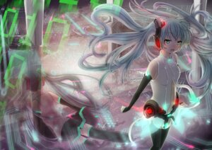 Rating: Safe Score: 13 Tags: ai_yoru hatsune_miku miku_append vocaloid vocaloid_append User: fairyren