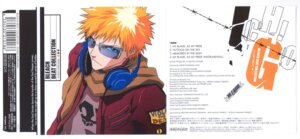 Rating: Safe Score: 5 Tags: bleach disc_cover headphones kurosaki_ichigo male User: Radioactive