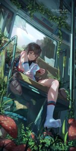 Rating: Safe Score: 2 Tags: arknights bandaid feet ice_(dzs1392584271) see_through User: Mr_GT