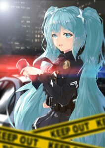 Rating: Safe Score: 37 Tags: hatsune_miku icefurs megane police_uniform vocaloid User: Mr_GT