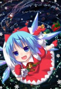 Rating: Safe Score: 42 Tags: christmas cirno dress touhou yano_mitsuki User: MyNameIs