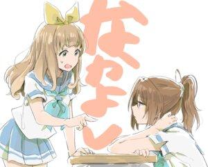 Rating: Safe Score: 30 Tags: hibike!_euphonium musshu nakagawa_natsuki seifuku yoshikawa_yuuko User: charunetra