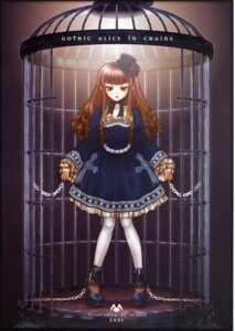 Rating: Safe Score: 9 Tags: bondage dress gothic_lolita lolita_fashion pantyhose ryuran User: Radioactive