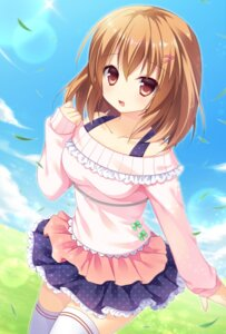 Rating: Safe Score: 36 Tags: nagisa_rio sweater thighhighs User: Mr_GT