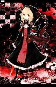 Rating: Safe Score: 46 Tags: blood devil gothic_lolita juexing lolita_fashion monster pixiv_fantasia_v User: Nekotsúh