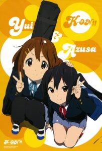 Rating: Safe Score: 37 Tags: hirasawa_yui horiguchi_yukiko k-on! nakano_azusa pantyhose seifuku User: Aurelia