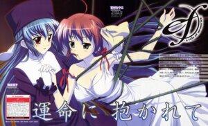 Rating: Safe Score: 10 Tags: amamiya_yuuko cleavage dress ef_~a_fairytale_of_the_two~ ef_~a_tale_of_memories~ miyamura_miyako tamaki_shingo User: vita
