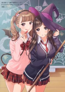 Rating: Safe Score: 31 Tags: canvas_(morikura_en) halloween horns morikura_en seifuku sweater tagme tail wings witch User: kiyoe