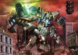 Rating: Safe Score: 11 Tags: g_gundam gundam mecha neros_gundam shining_gundam User: Aurelia