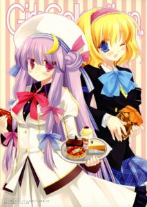Rating: Safe Score: 20 Tags: alice_margatroid d.n.a.lab miyasu_risa patchouli_knowledge touhou User: Chrissues