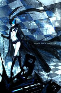 Rating: Safe Score: 8 Tags: bikini_top black_rock_shooter black_rock_shooter_(character) fishine gun vocaloid User: Radioactive