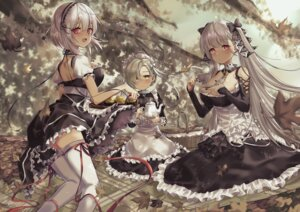 Rating: Safe Score: 25 Tags: azur_lane formidable_(azur_lane) gothic_lolita lolita_fashion maid sheffield_(azur_lane) sirius_(azur_lane) skirt_lift tagme thighhighs User: Mr_GT