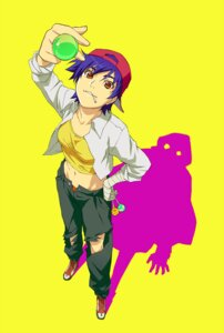 Rating: Safe Score: 10 Tags: bakemonogatari kanbaru_suruga tokkoriro torn_clothes User: vkun