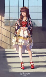 Rating: Safe Score: 27 Tags: dress miyama_tsubaki_me thighhighs watermark User: Dreista