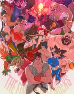 Rating: Safe Score: 11 Tags: akuma balrog bengus blanka cammy_white chinadress chun_li dee dhalsim edmond_honda evil_ryuu eyepatch fei_long guile heels jay ken_masters leotard mike_bison pantyhose ryuu street_fighter t._hawk tattoo torn_clothes ultra_street_fighter_ii vega violent_ken weapon zangief User: Radioactive
